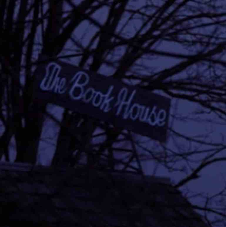 The Book House Twin Peaks Sign