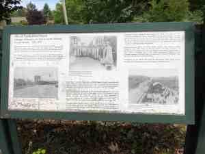 Historical Marker - Site of North Bend Depot