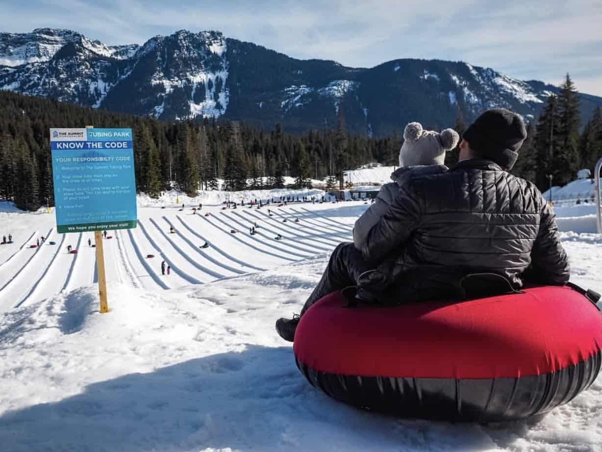 Summit at Snoqualmie Tubing Center