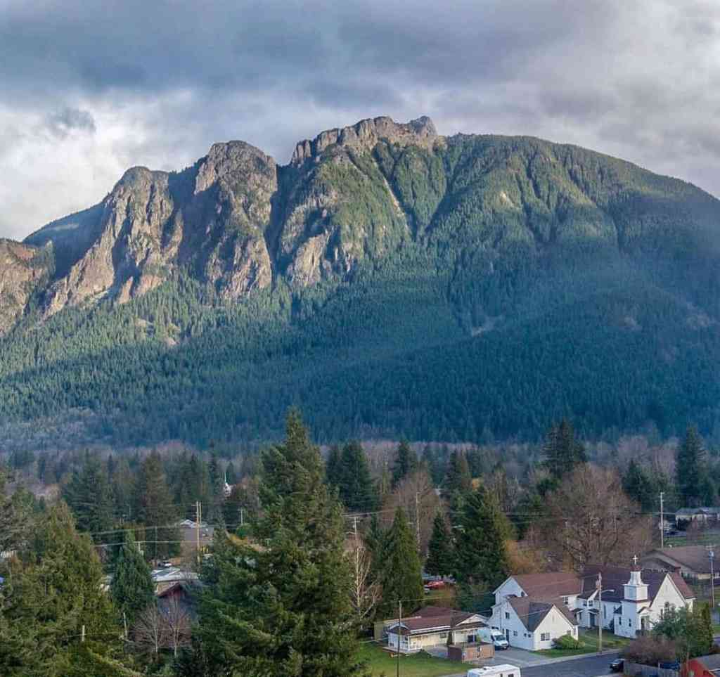 Mount Si and North Bend