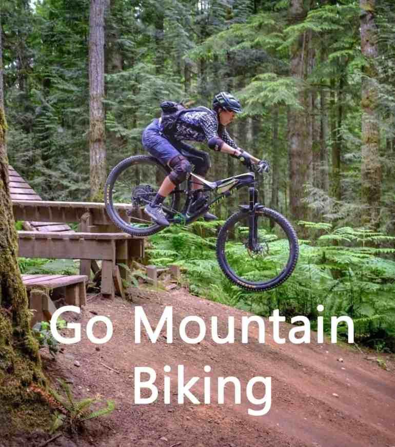 Mountain Biking at Duthie Hill