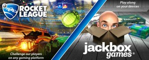 Rocket League and Jackbox Banner