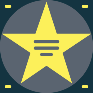 marble star icon - temporary