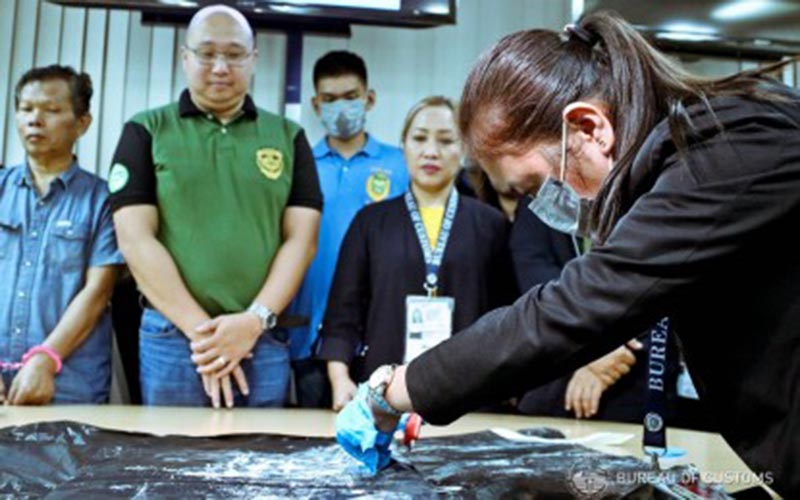 P9-M cocaine seized from Indonesian at NAIA