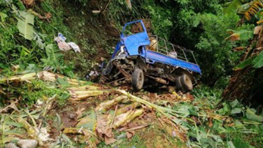 7 dead as truck falls off ravine in Ifugao town