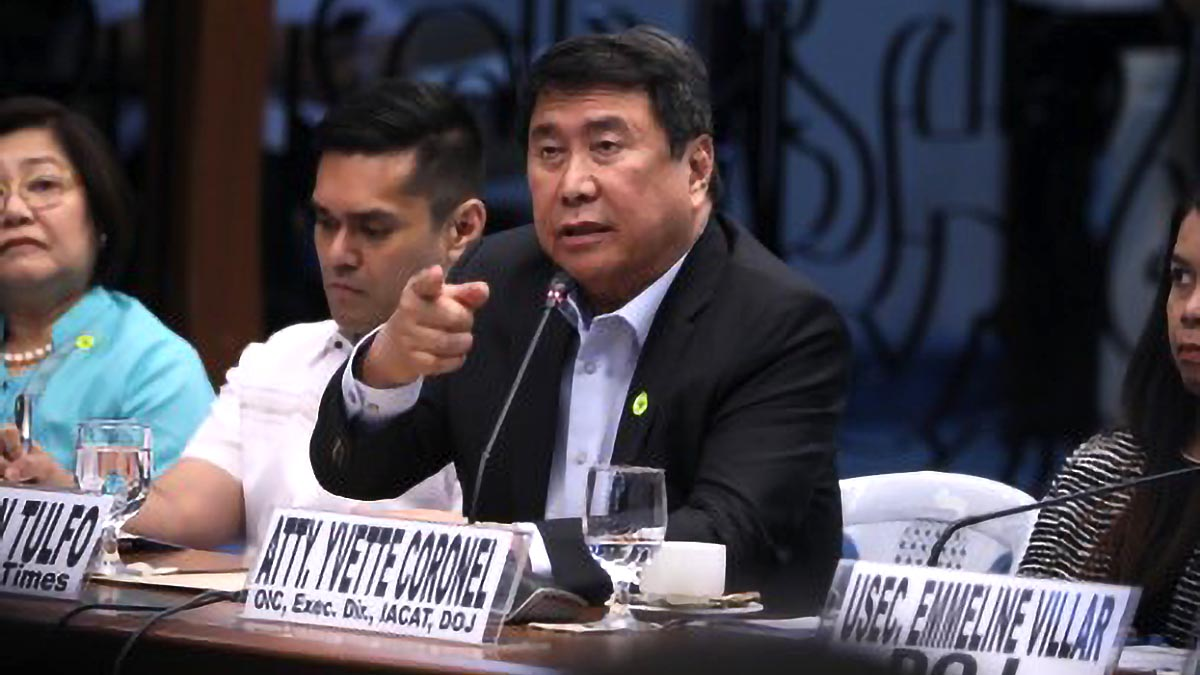 Palace dares Tulfo to submit proof vs. Aguirre