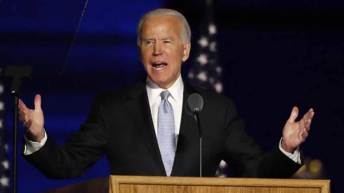 President-elect Biden pledges unity in victory speech