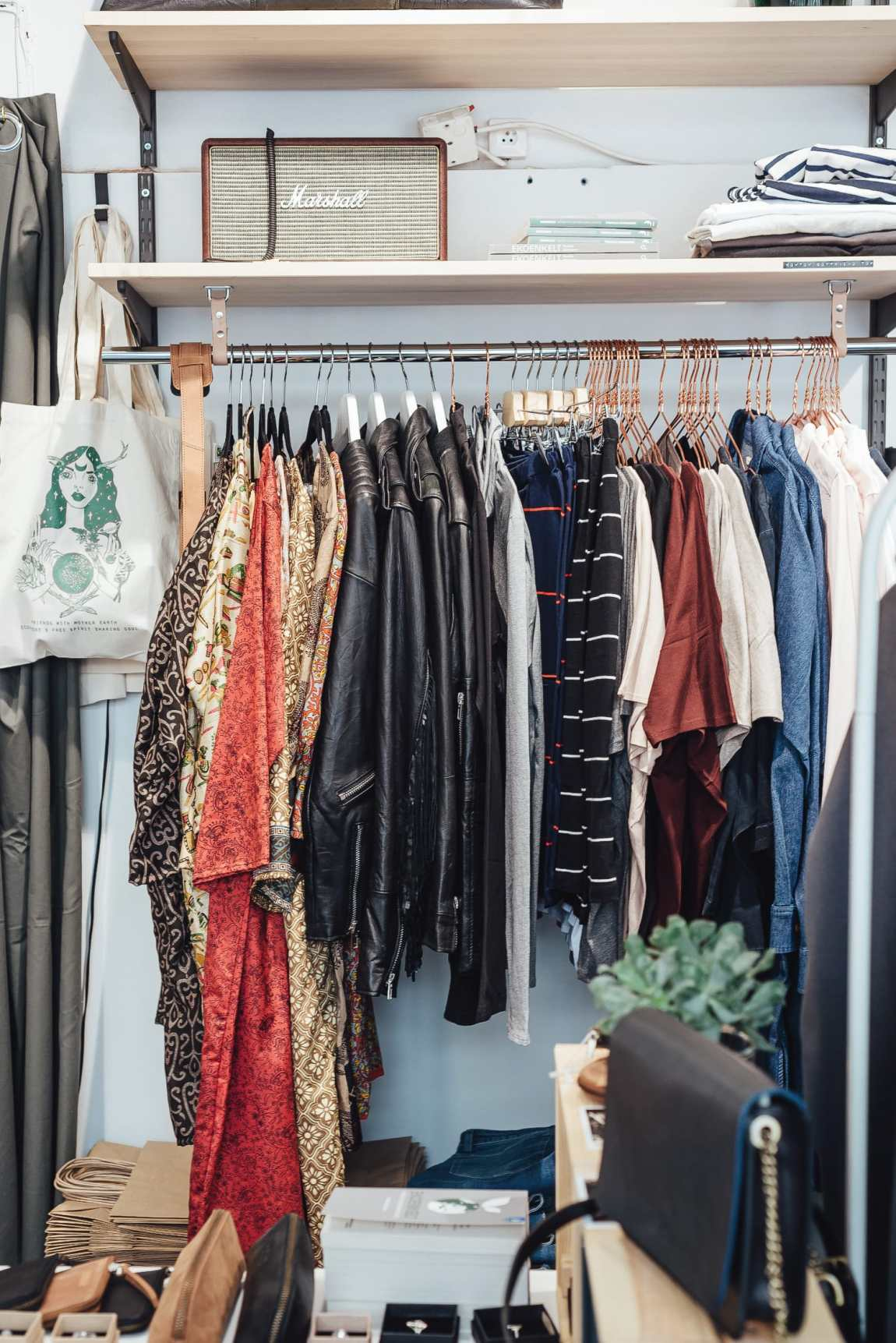 clothes at Ecosphere