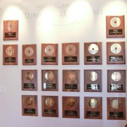 Inductee Award Wall