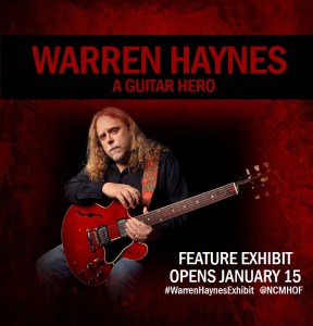 Warren Haynes Exhibit Popup