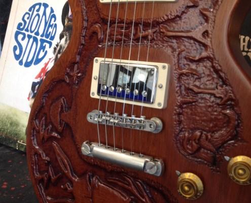 Warren Haynes Exhibit - Carved Guitar