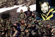 One of the few (and last) pictures of Roddy with the Chechen group