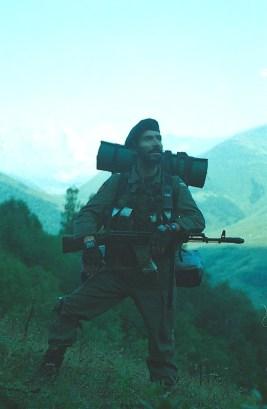 Roddy Scott last pictures chechen rebels militants Caucasus mountains 6