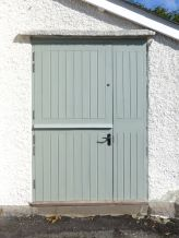 After - New stable door to kitchen
