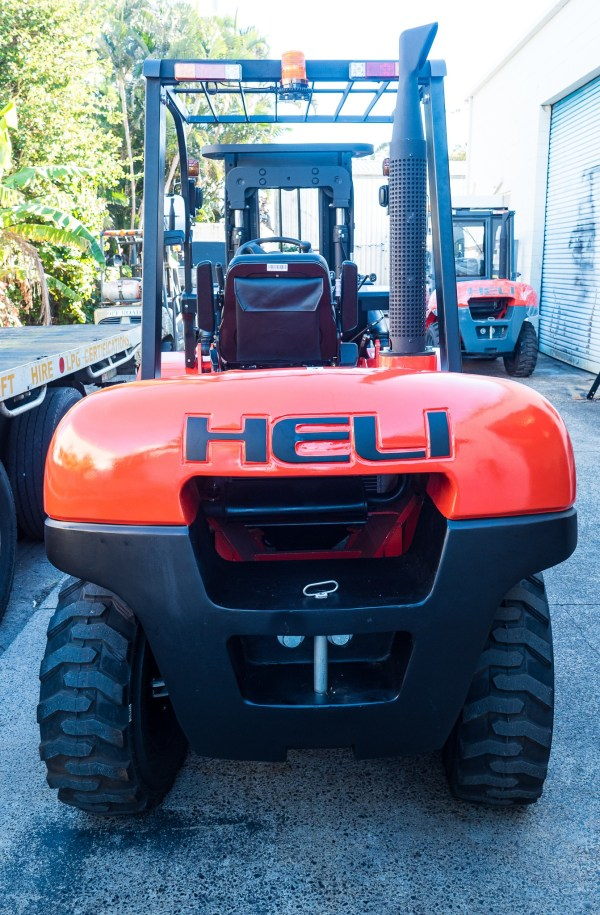 Heli 3.5T all terrain with sideshift