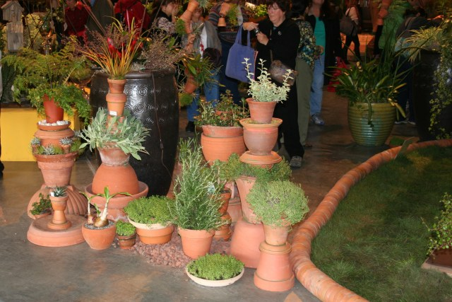Contained Planter Ideas For Balcony Gardens From The 2011 San Francisco Garden Show North Coast Gardening