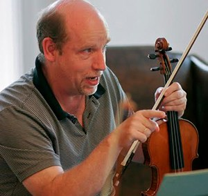 CALVIN WIERSMA, violin