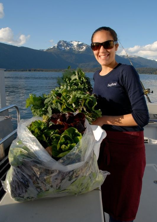 Farm Girl in Southeast Alaska