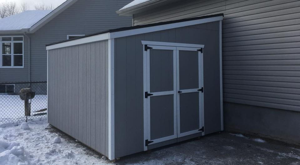 Lean To Prefab Garden Sheds North Country Sheds