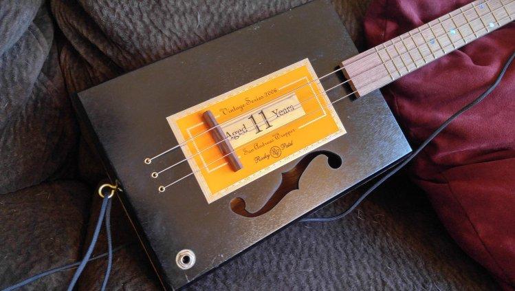 Sawyer Cigar Box Guitars