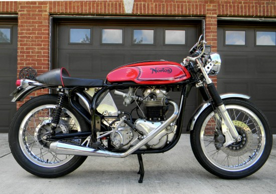 1966 Norton Atlas Cafe R Side