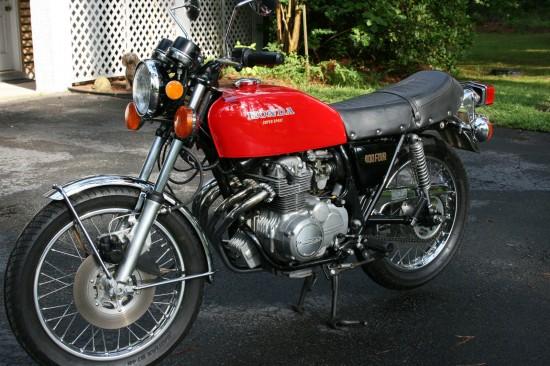 1976 Honda CB400 L Front