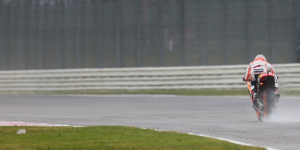 San Marino provides first full wet day of 2014 season
