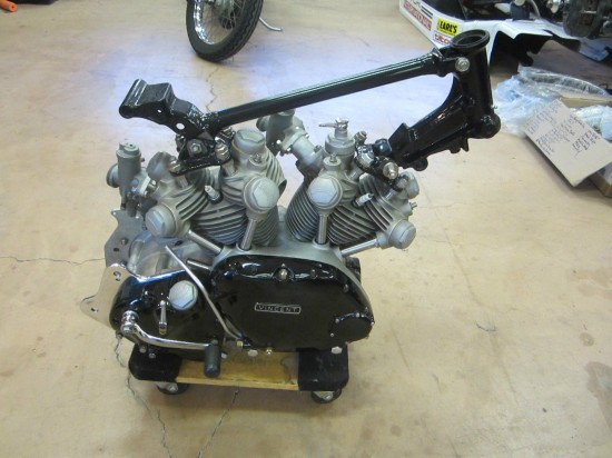1955 Vincent Black Prince Project Engine 1