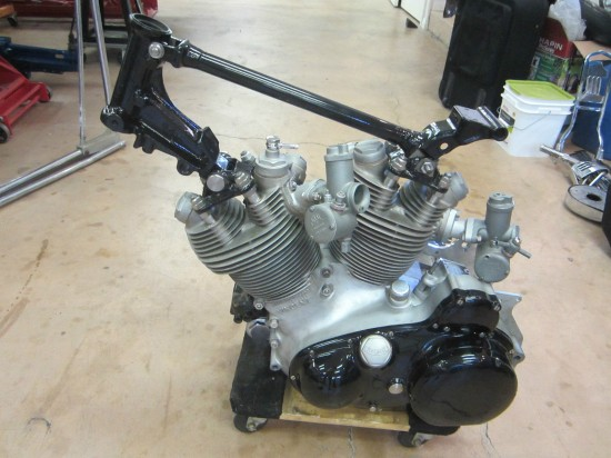 1955 Vincent Black Prince Project Engine 2