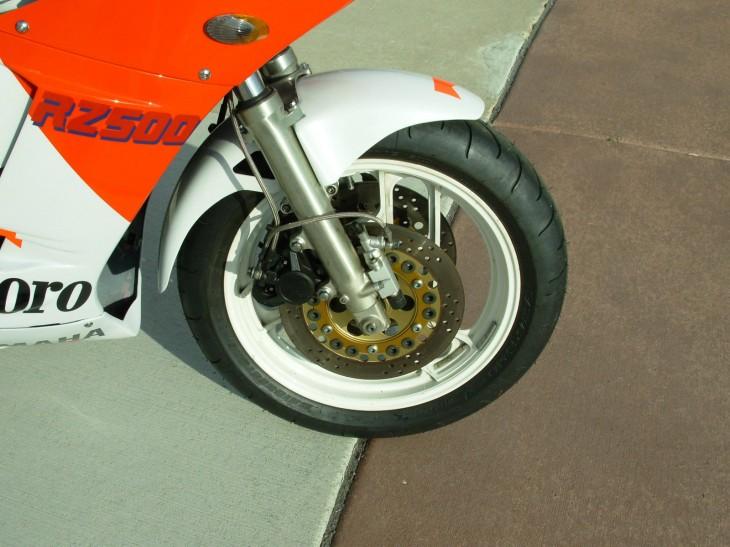 1985 Yamaha Marlboro RZ500 Front Brakes