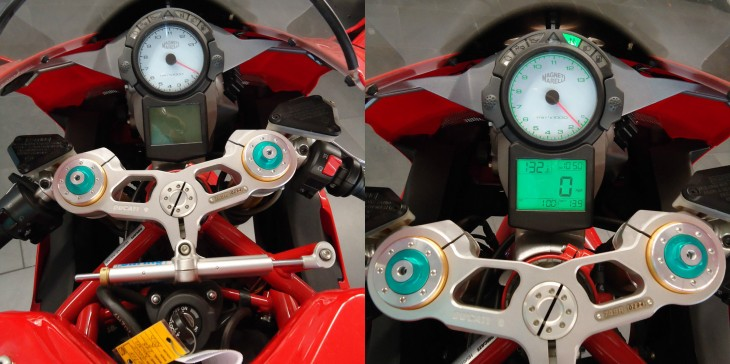 2005 Ducati 749R Dash