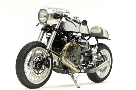 Moto Guzzi V11 Sport Custom - Front Left