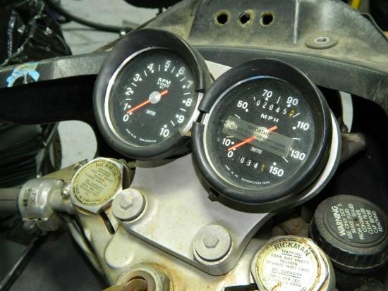 1974 Rickman BSA Dash