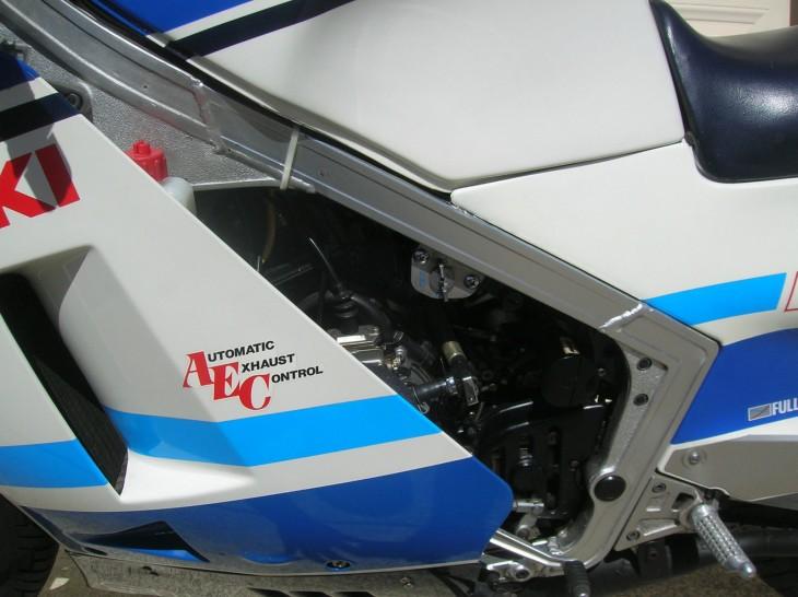 1986 Suzuki RG500 Gamma L Fairing Detail