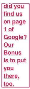 Our bonus