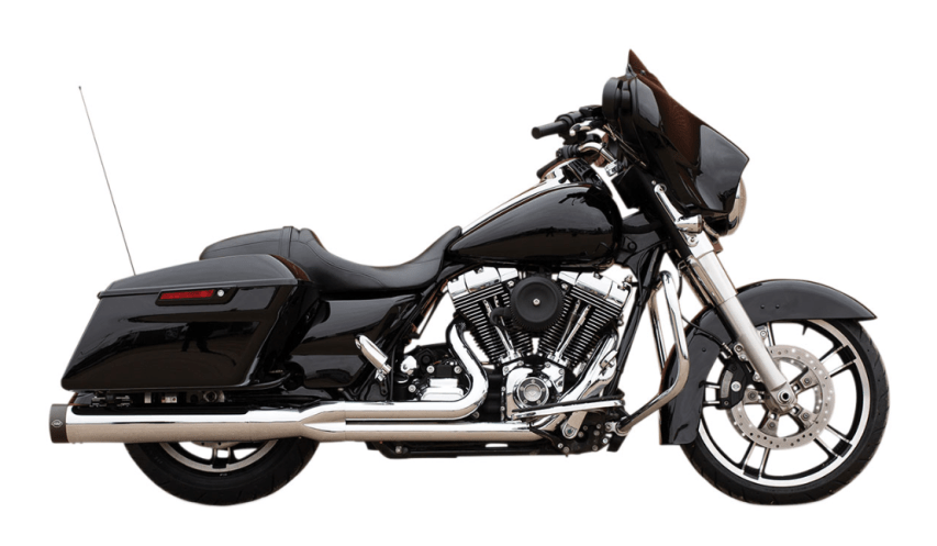 S&S Cycle 50 State Legal Sidewinder 2-Into-1 Chrome Exhaust System