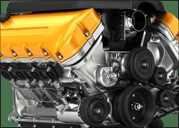 Truck camper motor