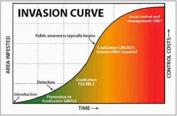 Invasion Curve