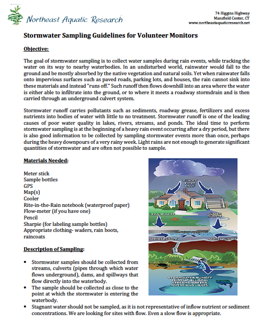 Stormwater sampling guidelines pg 1