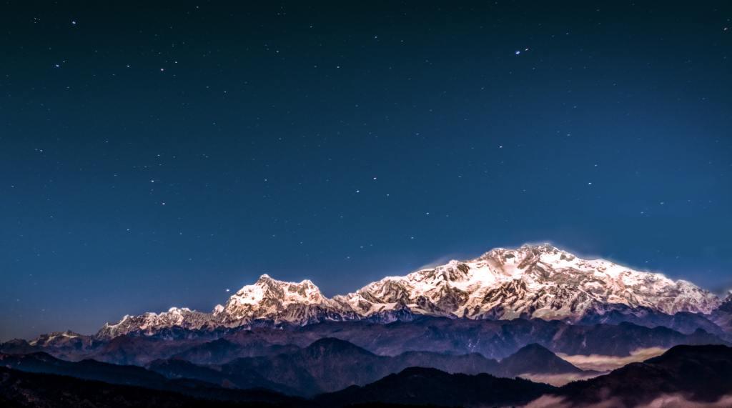Kanchenjunga South Peak, India