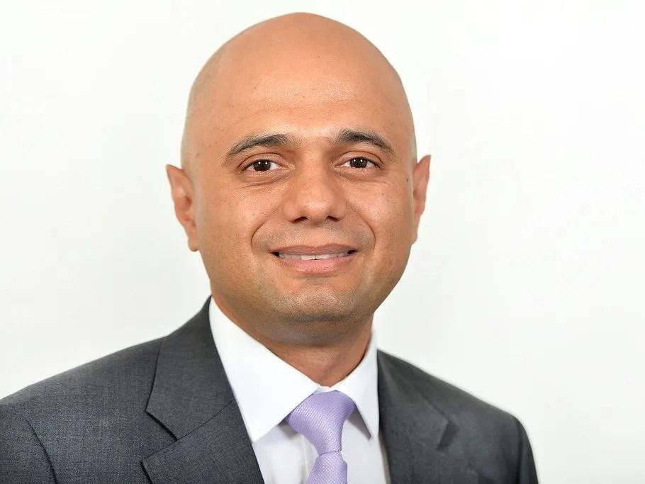 Sajid Javid, Health Secretary