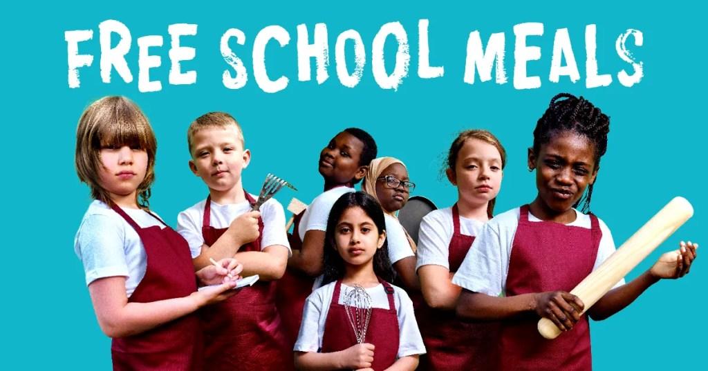 Free School Meals poster