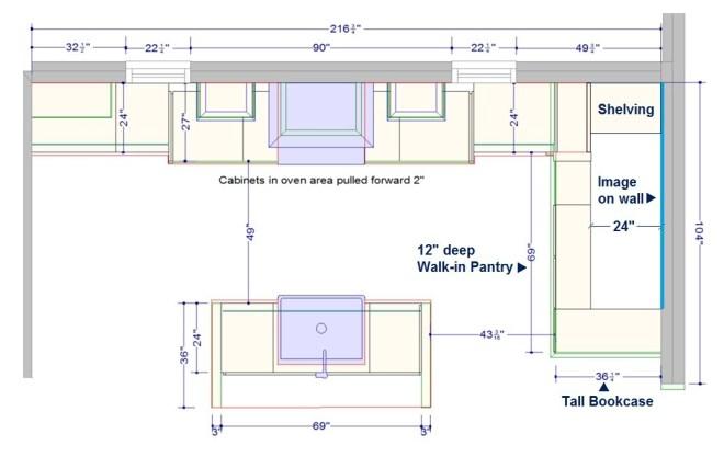 Large Walk In Pantry Dimensions Novocom Top