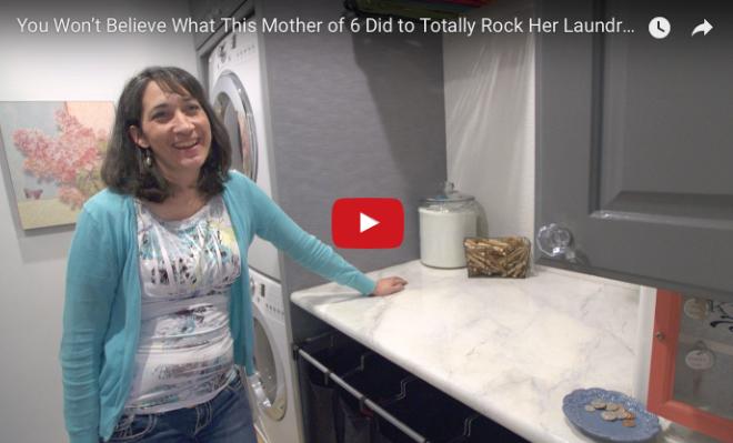 Most Efficient Laundry Room — Laundry Room Ideas | HouseBeautiful.com