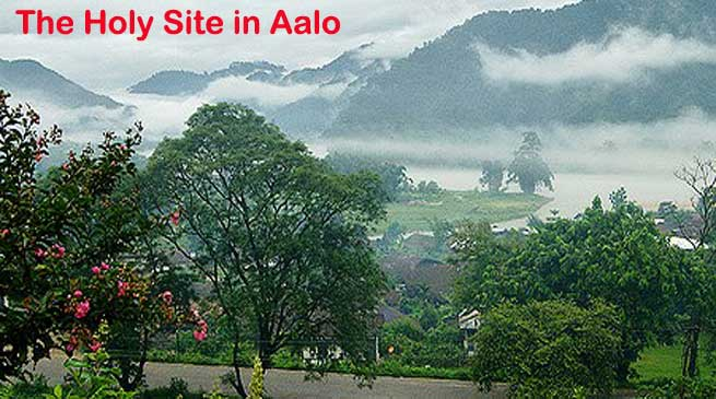 Benji-Liine- The Holy Site in Aalo of Arunachal