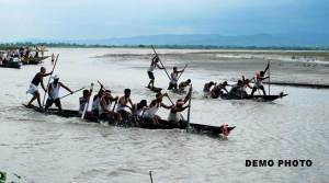 Assam- 10 drowns as Boat Capsized in Sabon River
