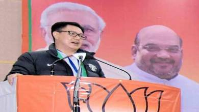 Centre never declared to give citizenship to Chakma,Hajong Says Kiren Rijiju
