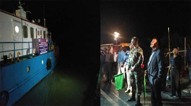 Army and IWAI experts on Joint Scoping Mission on River Brahamputra