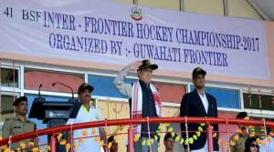 41st BSF Inter Frontier Hockey Tournament beings