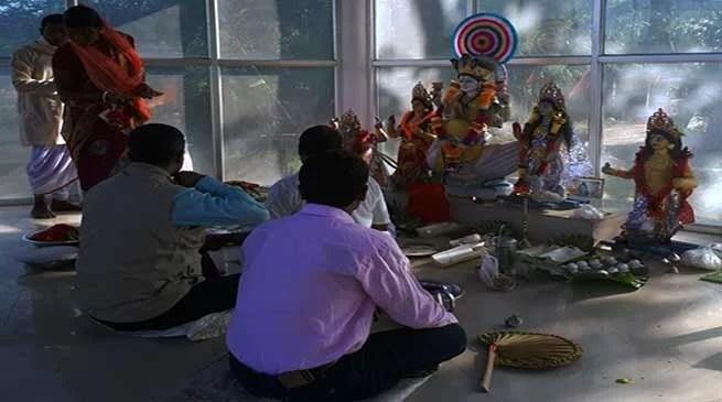 Dingi Puja organised in Coochbehar